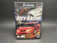 City Racer Nintendo Gamecube 2003 with Manual   TESTED and WORKING AC