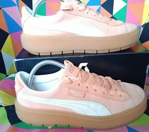 Puma Suede Chunky Trainers Casual Trendy Stylish UK7