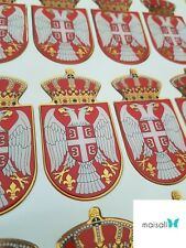 3D Aufkleber Serbien, Srbija, Serbia, Serbie Sticker
