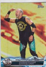 "2011 TOPPS WWE CHRISTIAN ""ELECTRIFYING ENTRANCES"" INSERT WRESTLING CARD #EE-13"