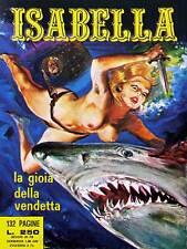 Bande dessinée isabella adulte joy revenge shark couteau sous-marin italie print CC346