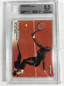 2003 NetPro Serena Williams #1 BGS GRADED