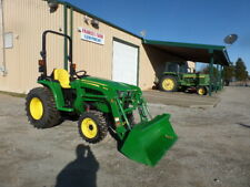 John Deere 3032E 4Wd And Loader 2018 19Hrs. W/Warr. Why Buy New?