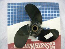 OMC Johnson Evinrude 8 X 7 3 blade aluminum propeller New 763588