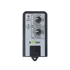 BN-LINK Short Period Repeat Cycle Timer 24 Hours ON OFF Controls Plug In Delay
