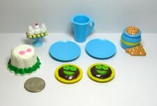 Barbie Miniature Food Accessories Lot of 8
