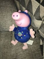 "Small Light Uo George Pig Peppa Pig Toy Approx 6""  With Sounds Superfast"