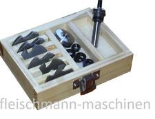 Profi 14 tlg Anlaufring Satz 75 mm bis 150 mm Anlaufringsatz in der Holzbox
