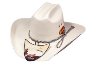 New Hat - Western - Triple Diamond White - [Code 140] Cowboy Cowgirl Hat Brigalo
