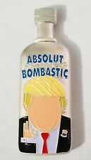 Donald Trump Absolut Bombastic Build That Wall Bottle Challenge Coin (non NYPD)