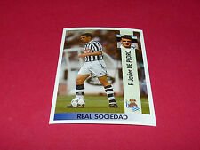 F. JAVIER DE PEDRO REAL SOCIEDAD PANINI LIGA 96-97 ESPANA 1996-1997 FOOTBALL