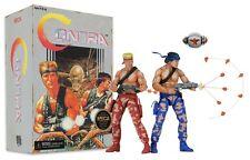 "CONTRA Video Game BILL & LANCE 7"" Action Figure 2 PK NECA Nintendo NES In Stock"