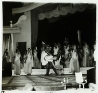 PARIS La Nouvelle Ève Danse Antique ca 1950, Photo Stereo Cellulose L15n4
