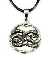 Zauber Ring ~ AURIN ~ h: 1.8 cm Schlange Silber Silber 925