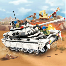 430pcs Military Panzer Tank Building Blocks with Soldier Figures Toys Bricks
