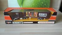 CORGI SUPERHAULERS 3400H SCAMMELL ROADTRAIN BOX TRAILER - HERSHEYS CHOCOLATE