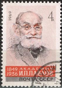 Russia Famous physiologist Pavlov Nobel Prize Medicine stamp 1969