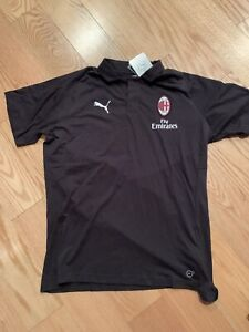 Puma Soccer 754467-04 Mens AC Milan Casual Performance Polo S BNWT Ibrahimovic