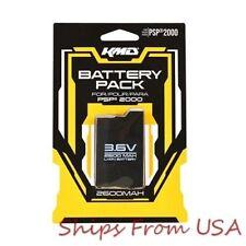KMD Slim PSP Rechargeable 2600mAh Battery Pack for Sony Slim PSP 2000/3000