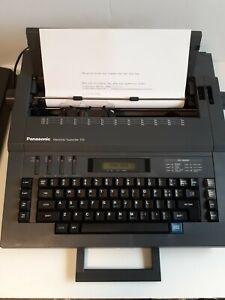 Panasonic Rk-T33 Electronic Typewriter 120 & 240 volt Vintage EX. CONDITION!!!