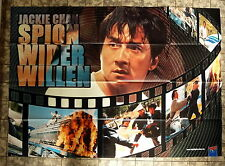 JACKIE CHAN * Spion wider Willen - VIDEO-POSTER A0 (120x84cm) German 2-Sheet ´02