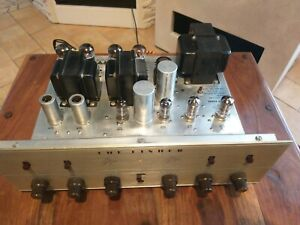 The Fisher X100b Tube Amplifier