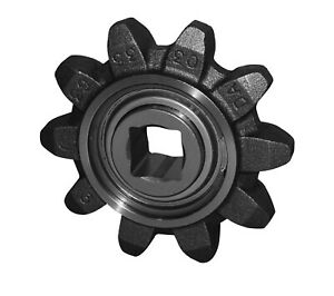 10 Tooth Idler Sprocket Assembly (503664) Fits Case/Astec Trencher Models