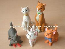 New Full Set! -The Aristocats- So Tiny! 5 Figures Disney Choco Egg Marie Cat