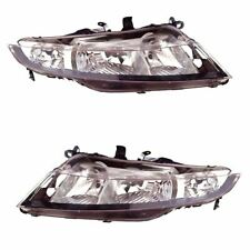 2x NEW Genuine Honda Civic 2006 - 2011 Headlights Headlamps Pair Left Right SIDE