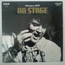 Elvis Presley ‎– On Stage - February, 1970 - Vinyl, LP, Album - 1970 - Rock, Pop
