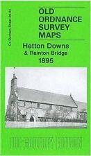 MAP OF HETTON DOWNS & RAINTON BRIDGE 1895