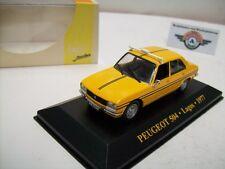 "Peugeot 504 Taxi ""Lagos"" 1977, Yellow, IXO 1:43, OVP"