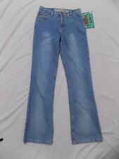 New with FLAW Mudd Blue Jeans Fit & Flare Denim Junior 9 28X31 435632E