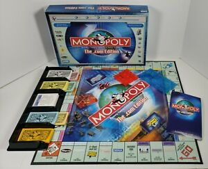 Monopoly The Dot .Com Edition Complete 2000 Hasbro Parker Brothers