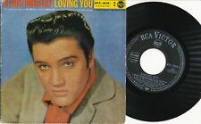 """ELVIS PRESLEY EP deutsche RCA EPC-1515-2 """"Loving You, Vol. 2"""" V1"""