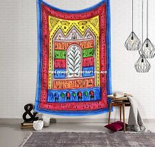 Indian Tribal Twin Wall Hanging Decor Bedding Throw Hippie Psychedelic Tapestry
