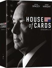 House of Cards - Stagioni 1-4 DVD - totalmente in italiano