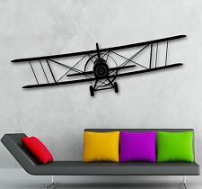 Wall Stickers Vinyl Decal Aircraft Aviation Sky Air For Kids Room (ig1629)