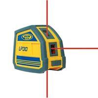 Spectra Precision LP30 Laser Level 3 Beam Point Generator wCarrying Case Trimble