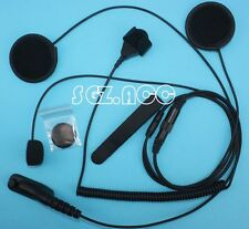 Motorola Close Helmet Motorcycle Headset Mic For Radio XPR6500 XPR6500 XPR6550
