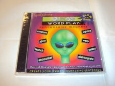 Word Play 350+ Refrigerator Magnet -Aliens Glow In Dark Kid Learning Vocabulary
