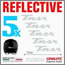 5x TMAX White YAMAHA 01-07 500 530 ADESIVI PEGATINA STICKERS AUTOCOLLANT