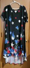 Lularoe dress 3xl Stars And Flowers
