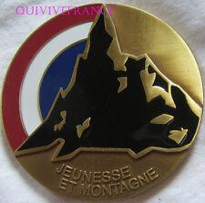 MED6176 - MEDAILLE ASSOCIATION JEUNESSE & MONTAGNE 1946-2008