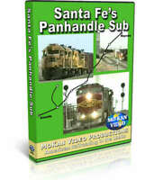 Santa Fe's Panhandle Sub - MoKan Video Train DVD