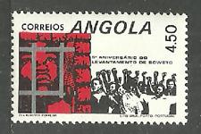 ANGOLA 1981 SOWETO RIOTS MILITARY PRISONS SET MNH