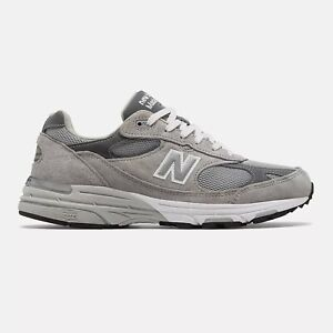 NWB New Balance Mens Made in US 993 Grey with white Standard D FREE SHIPPING