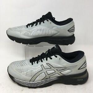 Asics GEL-Kayano 25 Running Sneakers Mens 12 Grey Low Top Athletic Shoe 1011A029