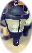 "Vintage Glass Street Light,  University Park New York LED 30"""