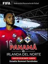 Programme Panama v Northern Ireland 2018. Unofficial